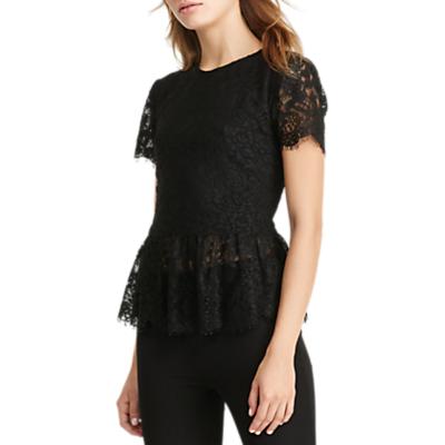 Lauren Ralph Lauren Adalia Lace Top, Black