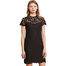 Buy Lauren Ralph Lauren Aerith Lace Dress, Black Online at johnlewis.com