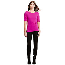 Buy Lauren Ralph Lauren Aliza Boat Neck Top Online at johnlewis.com