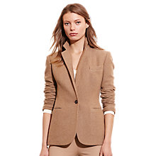 Buy Lauren Ralph Lauren Angona Tweed Jacket, Brown Online at johnlewis.com