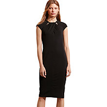 Buy Lauren Ralph Lauren Daturio Dress, Black Online at johnlewis.com