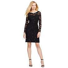 Buy Lauren Ralph Lauren Bennette Dress, Black Online at johnlewis.com