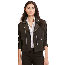 Buy Lauren Ralph Lauren Eelke Jacket, Black Online at johnlewis.com