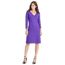 Buy Lauren Ralph Lauren Abarne Dress, Collection Purple Online at johnlewis.com