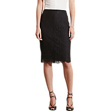 Buy Lauren Ralph Lauren Drewsko Pencil Skirt, Black Online at johnlewis.com