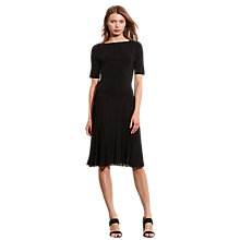 Buy Lauren Ralph Lauren Arleigh Dress, Black Online at johnlewis.com