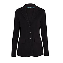 Buy Lauren Ralph Lauren Ayelee Blazer, Black Online at johnlewis.com