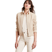 Buy Lauren Ralph Lauren Harper Jacket, Cream/Tan Online at johnlewis.com