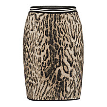 Buy Marc Cain Jacquard Knit Skirt, Magnolia Online at johnlewis.com