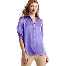 Buy Lauren Ralph Lauren Aaron Shirt, Charleston Purple Online at johnlewis.com