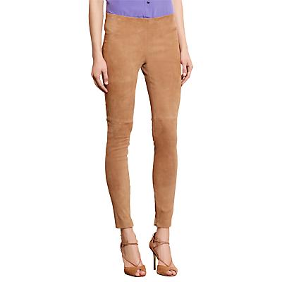 Lauren Ralph Lauren Adanne Skinny Trousers, Hunter Tan