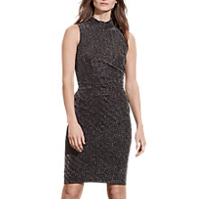 Buy Lauren Ralph Lauren Esben Sleeveless Dress, Black/Silver Online at johnlewis.com