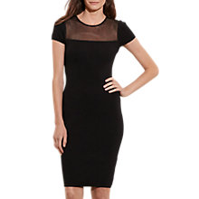 Buy Lauren Ralph Lauren Buddena Dress, Black Online at johnlewis.com