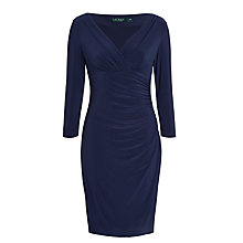 Buy Lauren Ralph Lauren Elsie Dress, Lighthouse Navy Online at johnlewis.com