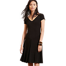 Buy Lauren Ralph Lauren Ladvala Dress, Black Online at johnlewis.com