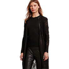 Buy Lauren Ralph Lauren Leolya Lace Jacket, Black Online at johnlewis.com