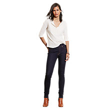 Buy Lauren Ralph Lauren Premier Skinny Jeans, Bond Street Wash Online at johnlewis.com