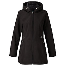 Buy Lauren Ralph Lauren Fleece Lined Jacket, Black Online at johnlewis.com