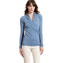 Buy Lauren Ralph Lauren Shoushan Wrap Top Online at johnlewis.com