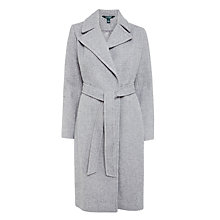 Buy Lauren Ralph Lauren Wrap Coat, Grey Online at johnlewis.com