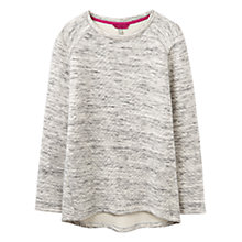 Buy Joules Textured Jersey Top, Cream/Grey Online at johnlewis.com