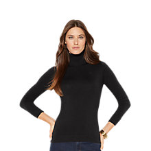 Buy Lauren Ralph Lauren Zoe Turtleneck Jumper Online at johnlewis.com