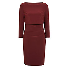 Buy Lauren Ralph Lauren Lenari Dress, Wildberry Rouge Online at johnlewis.com