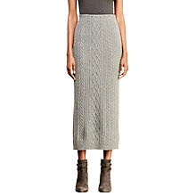 Buy Lauren Ralph Lauren Meziv Sweater Skirt, Concrete Heather Online at johnlewis.com