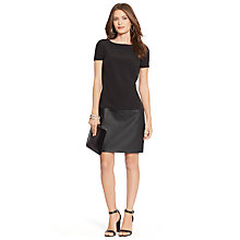Buy Lauren Ralph Lauren Rolina Dress, Black Online at johnlewis.com