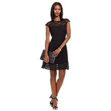Buy Lauren Ralph Lauren Tilly Dress, Black Online at johnlewis.com