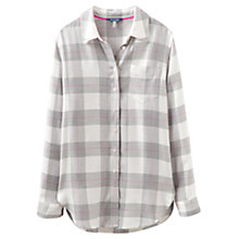 Buy Joules Check Shirt, Grey Online at johnlewis.com