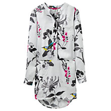 Buy Joules Tunic Shirt, Silver Birdberry Online at johnlewis.com