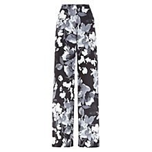 Buy Hobbs Delphine Trousers, Grey/Multi Online at johnlewis.com