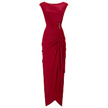 Buy Phase Eight Donna Dress, Scarlet Online at johnlewis.com