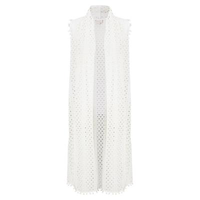 East Anglaise Waistcoat, White
