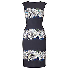 Buy Phase Eight Lilana Print Dress, Navy Online at johnlewis.com