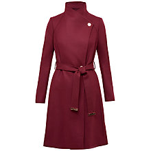 Buy Ted Baker Aurore Long Wrap Collar Coat Online at johnlewis.com
