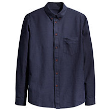 Buy Levi's Dobby Dot Shirt, Navy/White Online at johnlewis.com