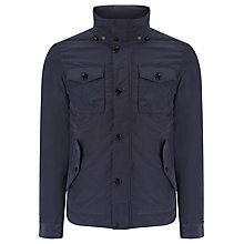Buy J. Lindeberg Bailey Water Resistant Four Pocket Jacket, Dark Navy Online at johnlewis.com