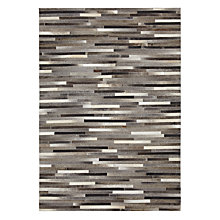 Buy John Lewis Cowhide Stripe Rug Online at johnlewis.com