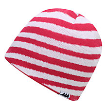 Buy Skogstad Children's Oppkuven Knitted Hat, Sharp Pink Online at johnlewis.com