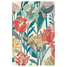 Buy Harlequin Verddacio Rug, Coral Online at johnlewis.com