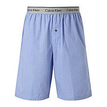 Buy Calvin Klein Woven Haddley Lounge Shorts, Blue Online at johnlewis.com