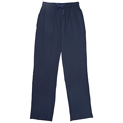 Derek Rose London Basel Modal Lounge Trousers, Denim