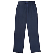 Buy Derek Rose Basel Modal Lounge Trousers, Denim Online at johnlewis.com