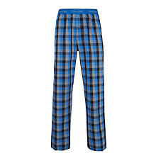 Buy Calvin Klein Woven London Check Lounge Pants, Blue Online at johnlewis.com