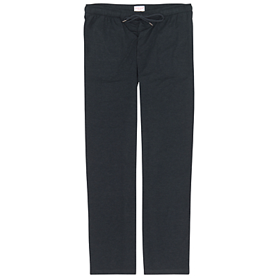 Derek Rose London Marlowe Micro Modal Lounge Trousers, Anthracite