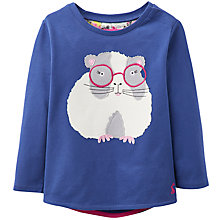 Buy Baby Joule Guinea Pig T-shirt, Navy Online at johnlewis.com
