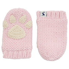 Buy Baby Joule Paws Mittens, Bon Bon Online at johnlewis.com