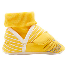 Buy Baby Joule Nippers Lion Slippers, Yellow Online at johnlewis.com